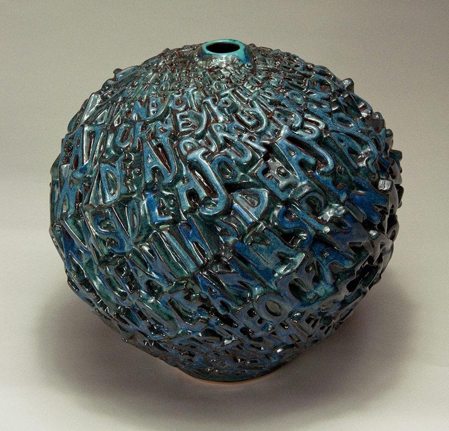 A Journey to the Ocean Inside 1 - Ceramic pot