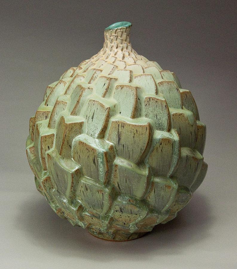 Autumnal Equinox 2 - Ceramic pot