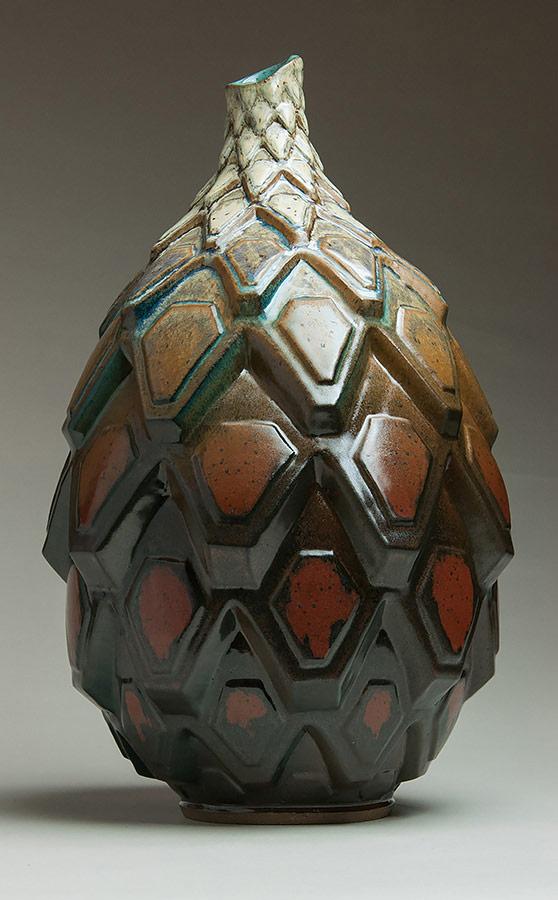Autumnal Shift - Ceramic pot