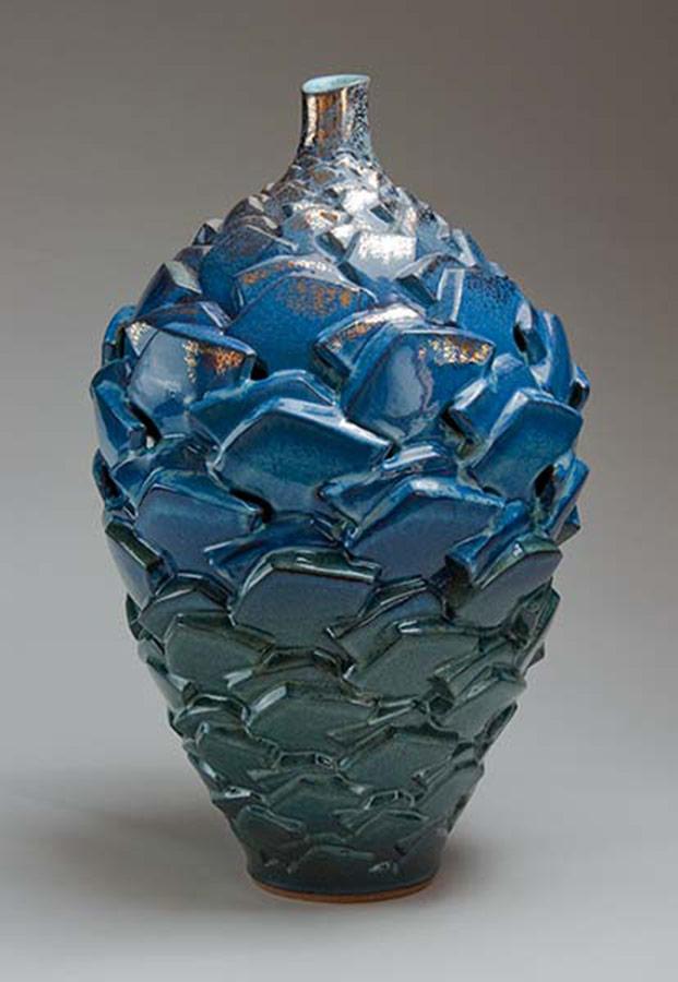 Centrifugal Centripetal The Dark Night of the Soul 2 - Ceramic pot
