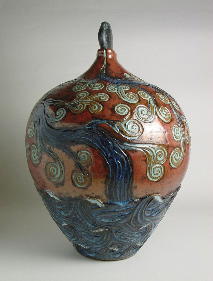 Ebb and Flow - Ceramic pot