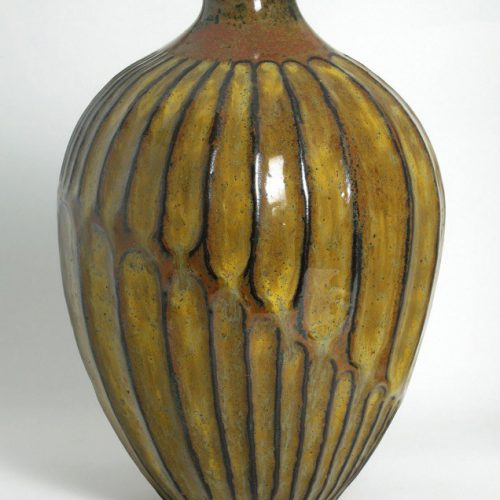 Embrace - Gold Ceramic Vase