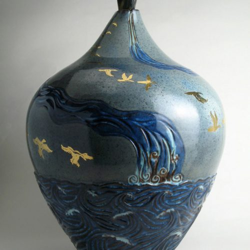 Flying Home 2 - Ceramic Pot