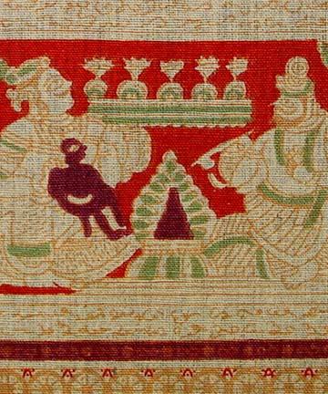 Indian Textile closeup of detail