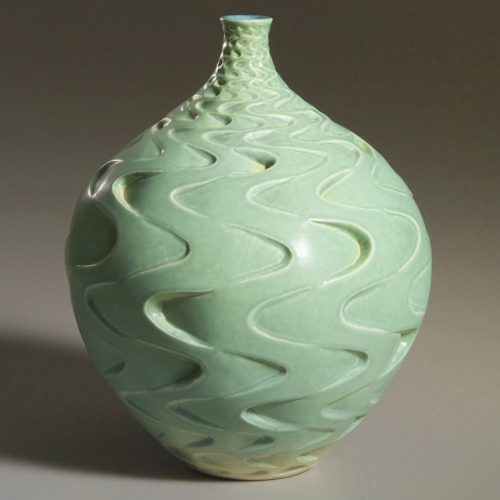 Infinite Ocean - Ceramic Pot