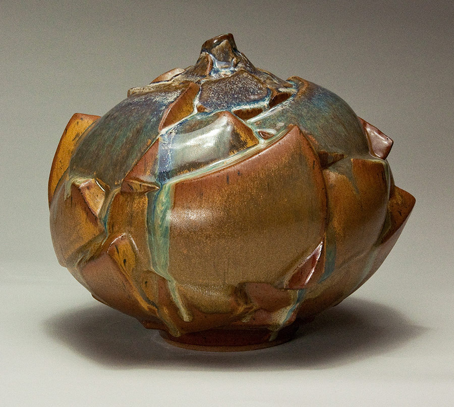 Outcroppings - Ceramic pot