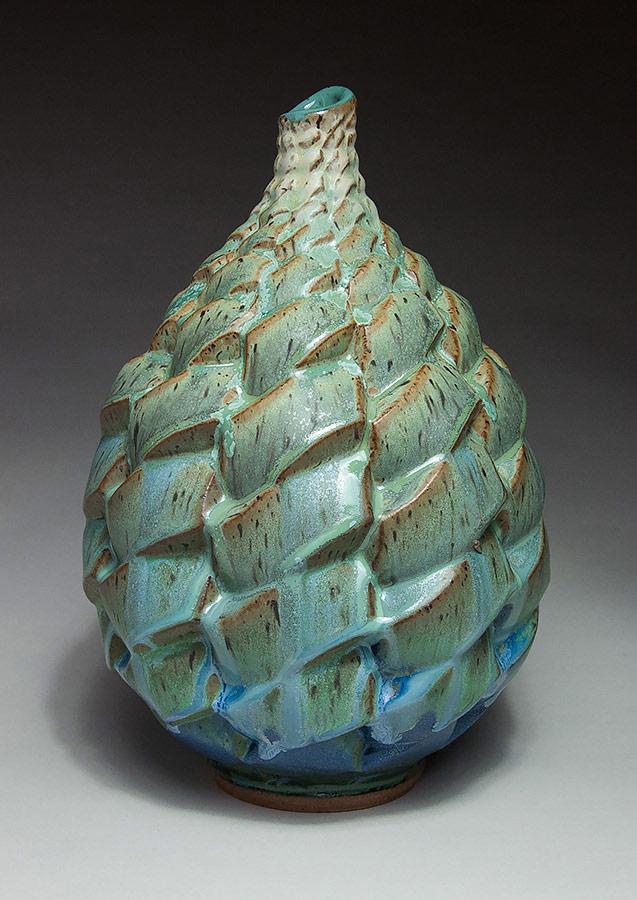 Parallelogram 5 - Ceramic pot
