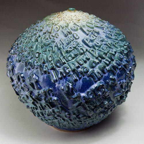 Pause Now Go - Ceramic Pot