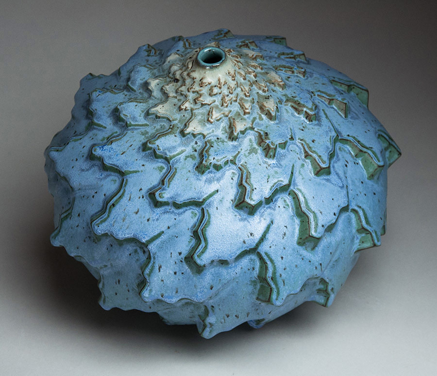 Rain Bands - Ceramic pot