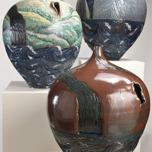 Rent Asunder The Sacred Heart Series - Ceramic Pots
