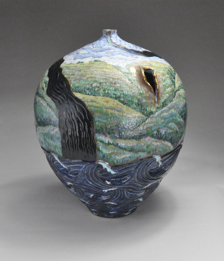 Rent Asunder The Sacred Heart Veils of Sight - Ceramic pot
