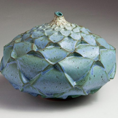Stone Flower - Ceramic Pot