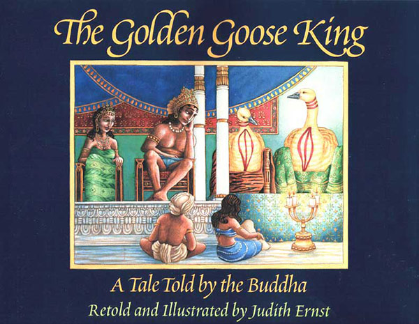 The Golden Goose King book cover