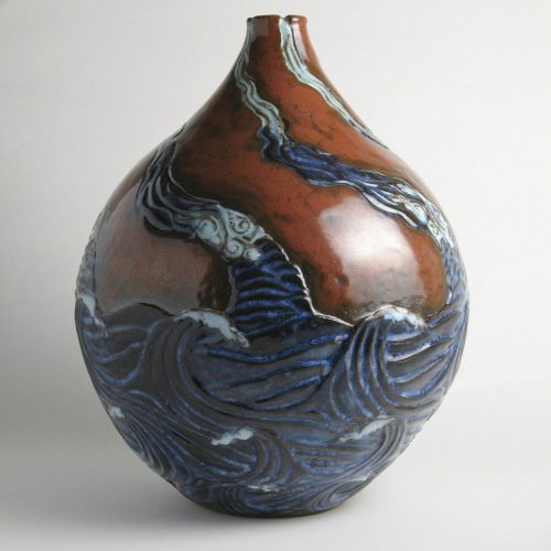 The Rising Tide Refreshes All Streams 1 - Ceramic Vase