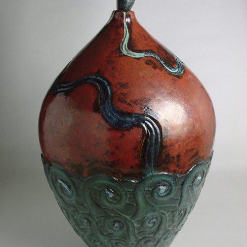 The Water Of Life And The Infinite Ocean 7 - Ceramic Vase