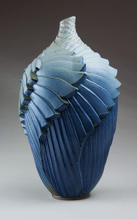 Wings - Ceramic pot
